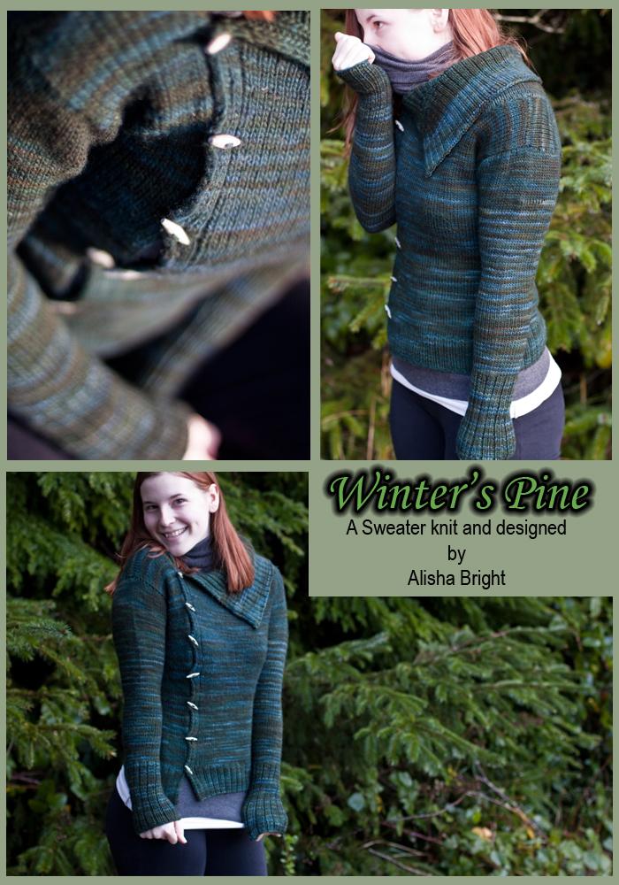 Winter's Pine Sweater by illuminangel