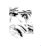 Anime eyes test one by KibaWolf27