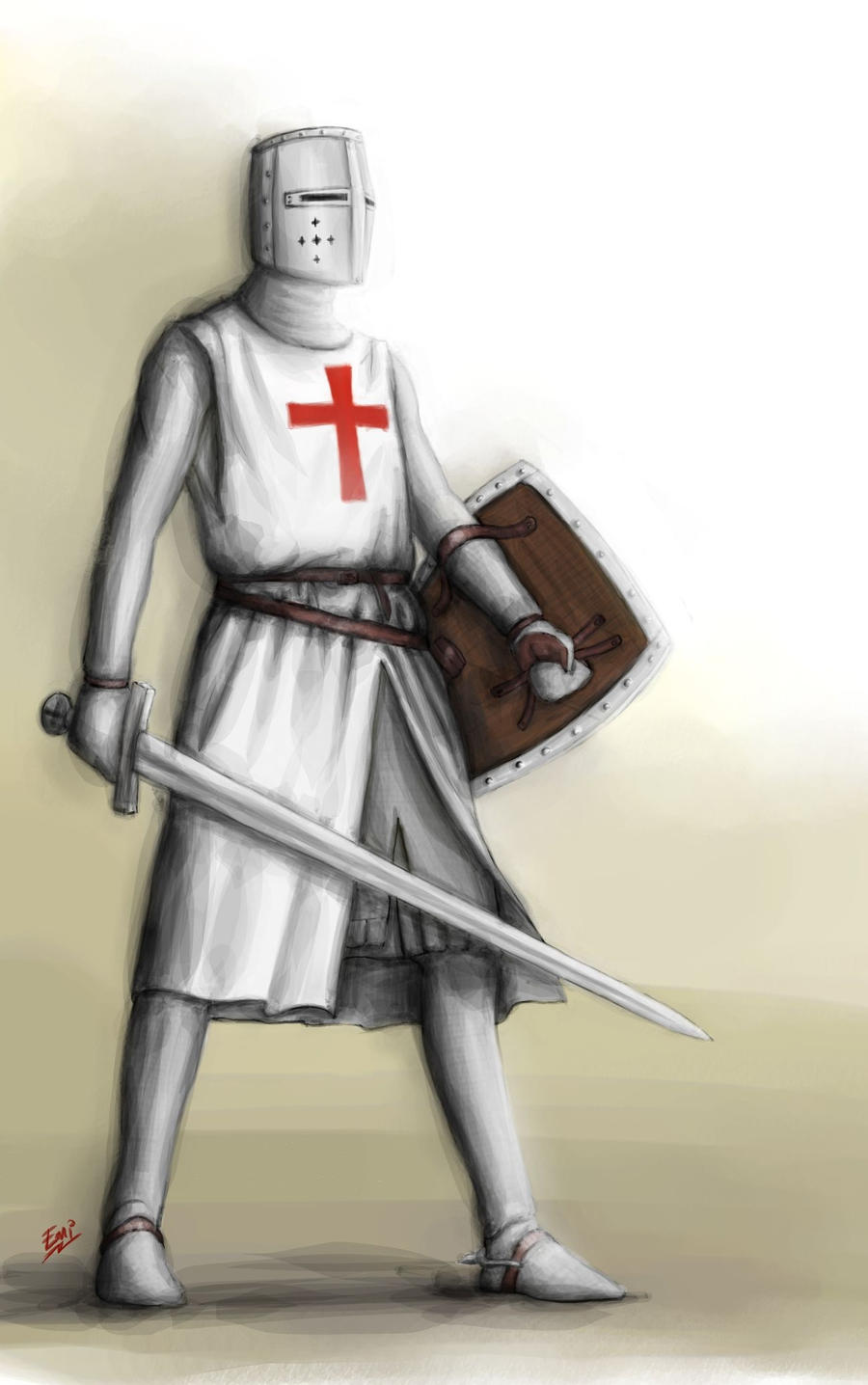 Templar Knight by touchedbyred on DeviantArt