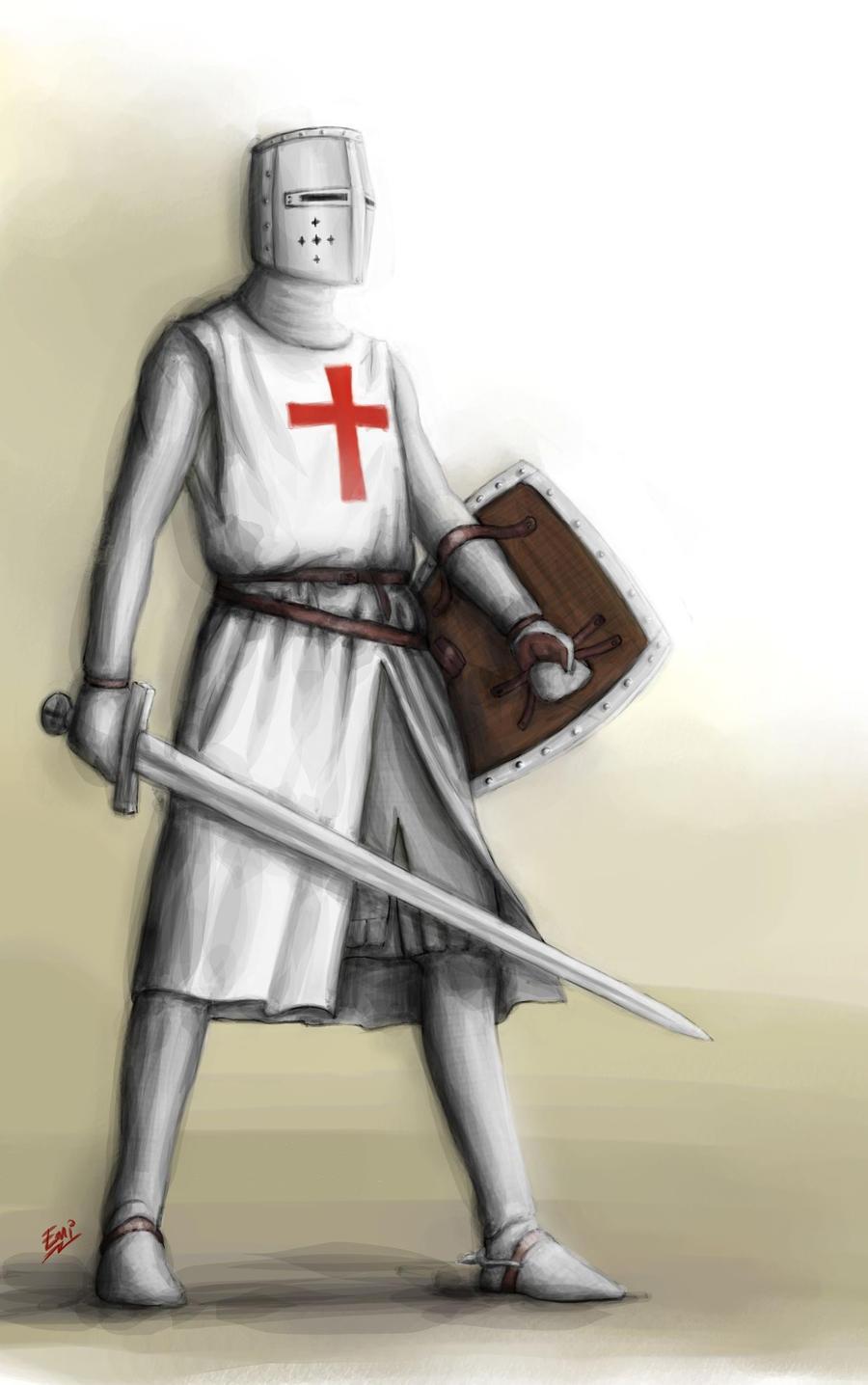 Drawings Of Knights Templar