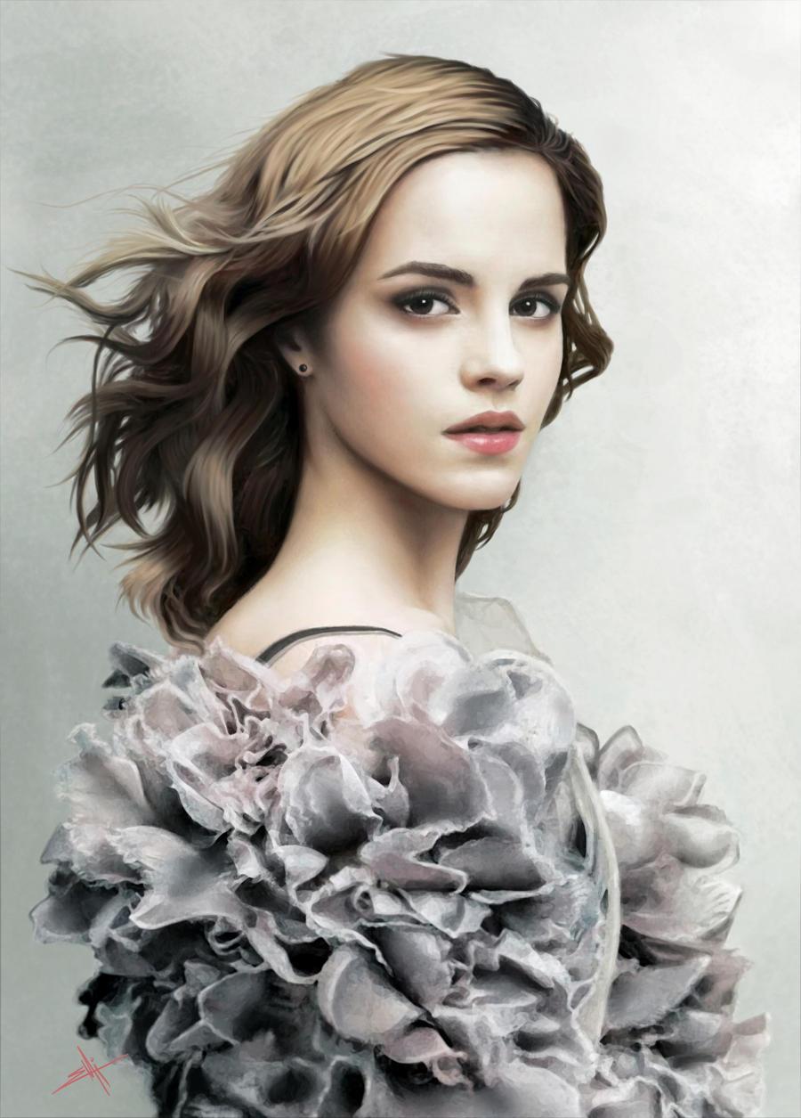 Emma Watson' Portrait