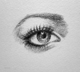 Eye sketch (five)