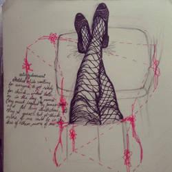 Moleskine Sketch - Legs