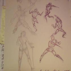 Gesture Drawing Practice - 01