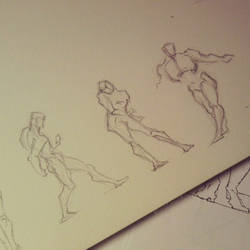 Figure Drawing Practice - 02