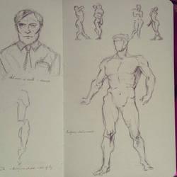 Figure Drawing Practice - 04