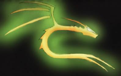 Golden dragon by Niv-Karan