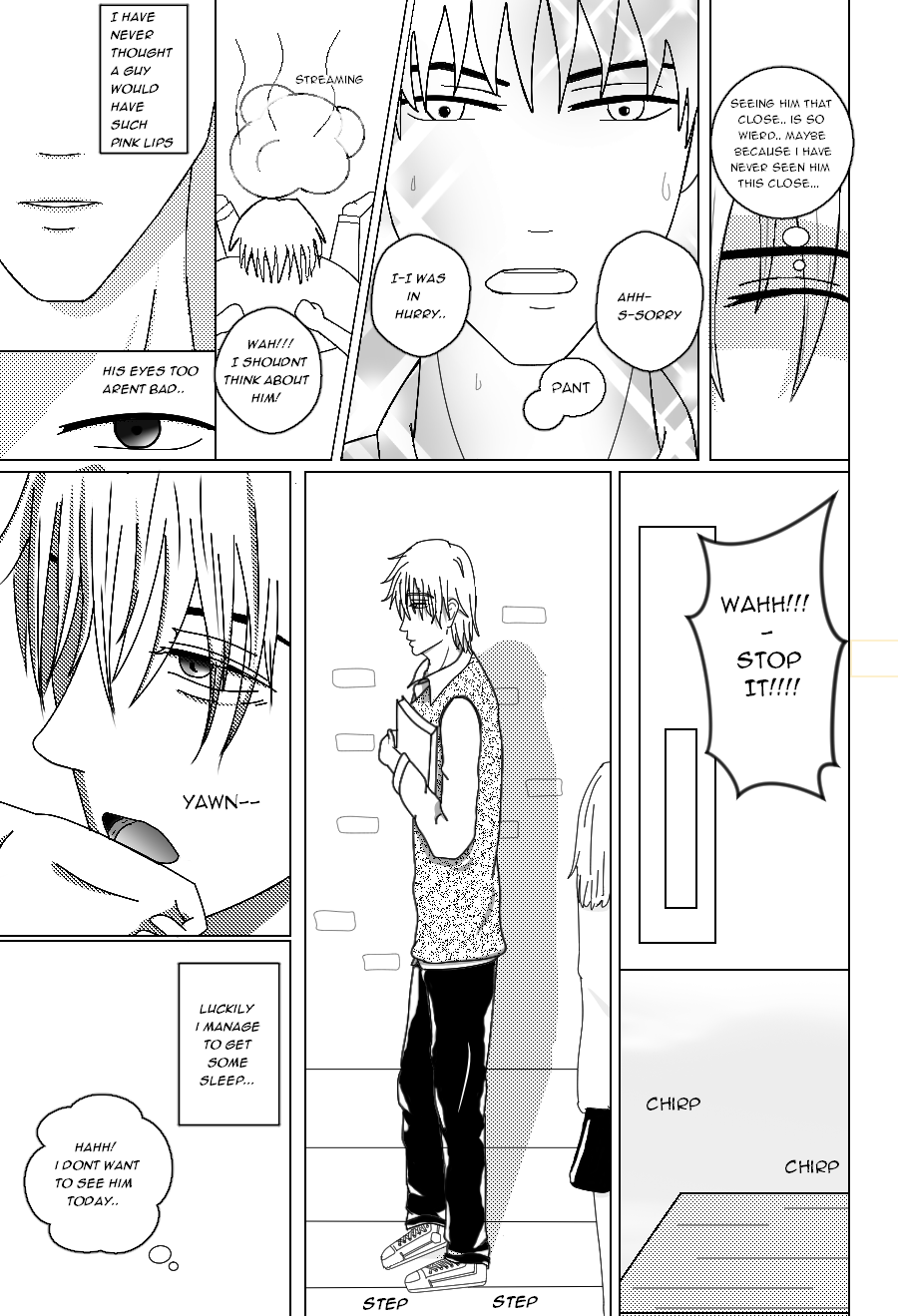 MANGA: Ch1: just for you... page 3 by yukitaoda
