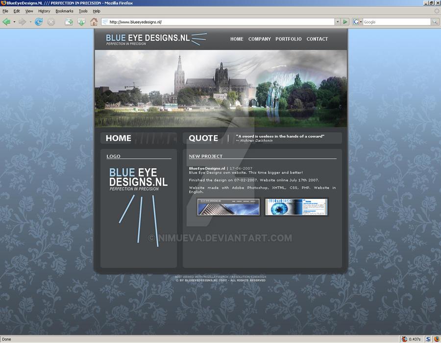 Blue Eye Designs New 2007 by Nimueva