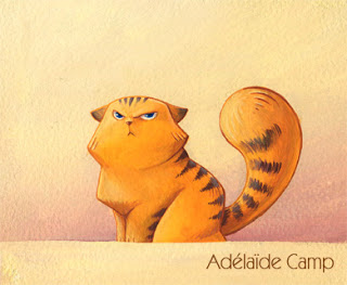 Chat grognon 1 by Adelaide-Camp