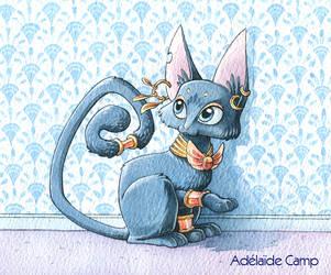 Bastet, goddness cat by Adelaide-Camp