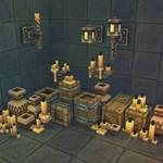3D Pixel Dungeon Deco Set 01