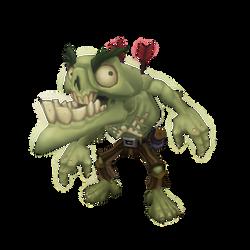 Low Poly Zombie Snapper by bitgem