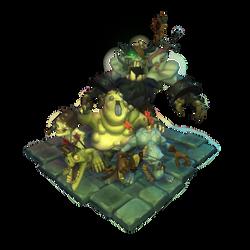 Low Poly Zombie Crew by bitgem