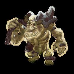 Low Poly Skeleton Grunt by bitgem