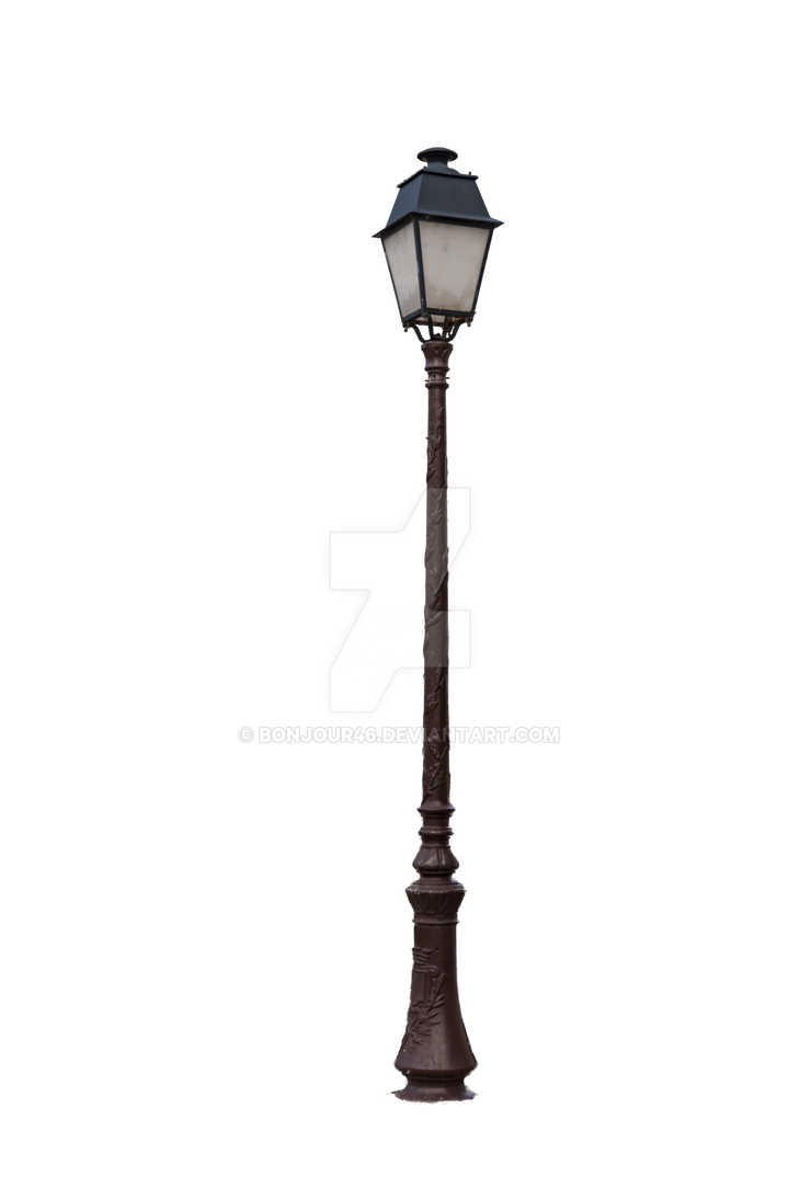 Lamppost by Bonjour46 on DeviantArt for Lamp Post Png  58lpg