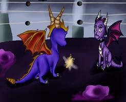 Spyro meets Siren again