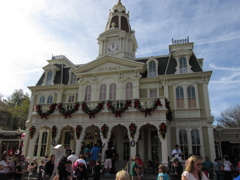 City Hall Magic Kingdom Walt Disney World by TheDreamFinder
