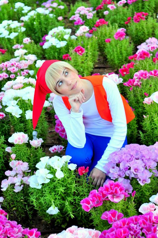 Flowery Scene by KlOvEr-B