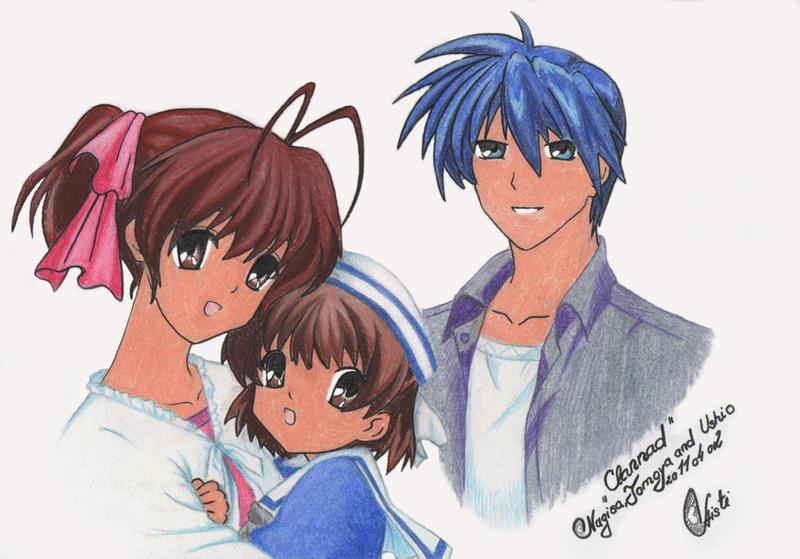 nagisa tomoya ushio: Clannad by WeLNiuXtea on DeviantArt