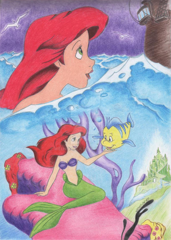 little mermaid by WeLNiuXtea