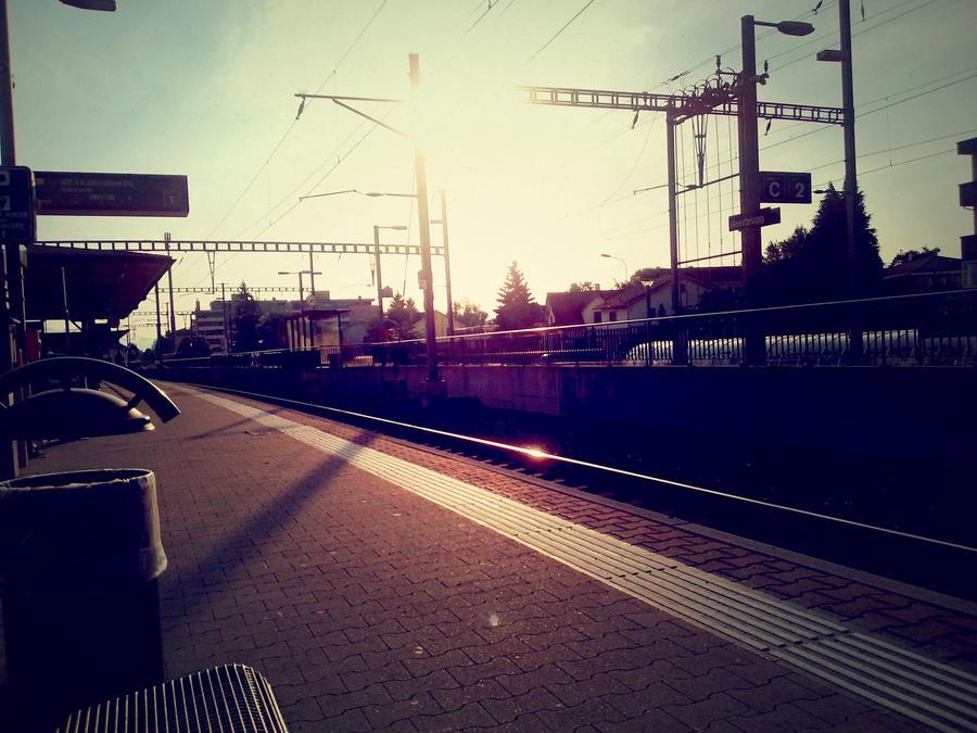 Trainstation by samsibamsi