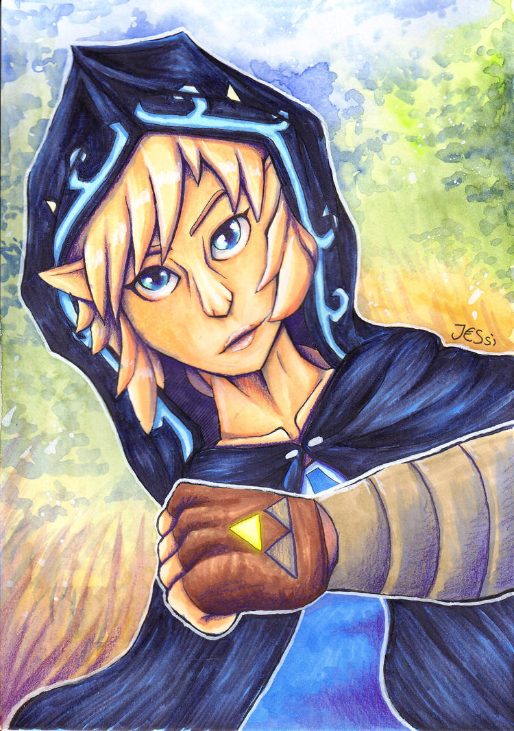 The Hero Link | The Legend of Zelda by J-Ssi
