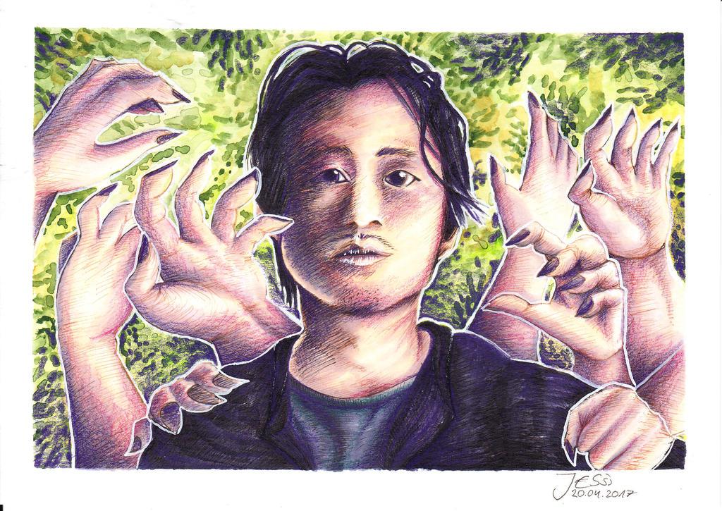 Glenn Rhee | The Walking Dead by J-Ssi