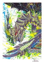 Astalos   Monster Hunter by J-Ssi