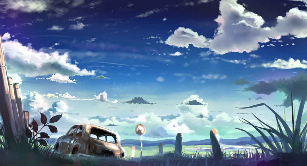 Forgotten road. by Nattorin