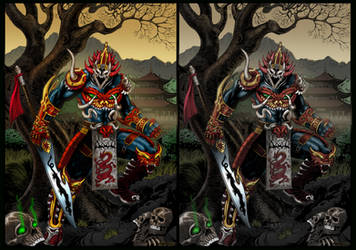 Spawn: Mandarin sidebyside by rcardoso530