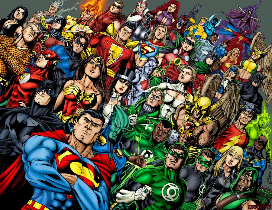 dc comics universe by rcardoso530