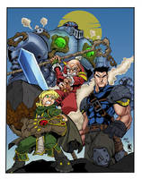 Battle Chasers by rcardoso530