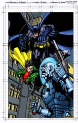 Batman Pin-Up