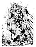 Thor vs Loki INKs