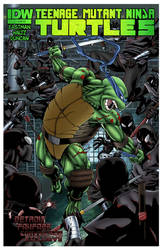 TMNT vs Foot!!! by rcardoso530