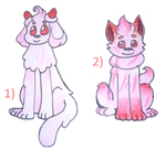 Alcremie dog adopts CLOSED by Midori-Berry-adopts