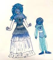 Blue Galaxy Diamond and Galaxy pearl: OPEN