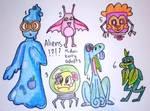 Free alien adopts set 2: 2/6 OPEN by Midori-Berry-adopts