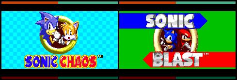 Sonic Chaos  Sonic Blast - Pokemon FRLG Style by SonicManiaGo