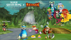 Rayman Candidates for Smash Ultimate