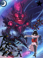 Shadow Saturn and her Forces of Darkness