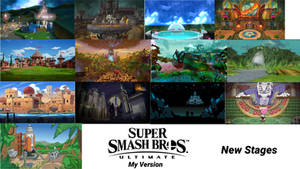 Smash Ultimate (My Version): New Stages