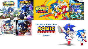 My Most Favorite Sonic The Hedgehog Games