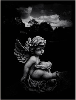 the putto reading
