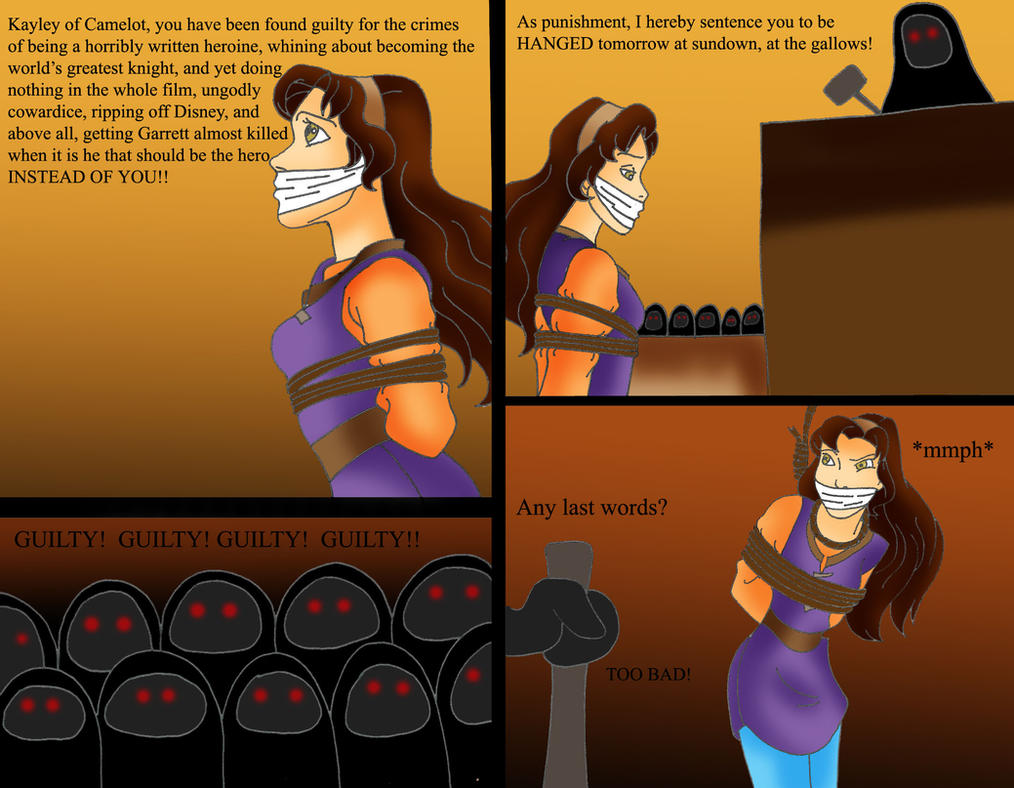Death To Kayley Keep Out Quest For Camelot Fans By