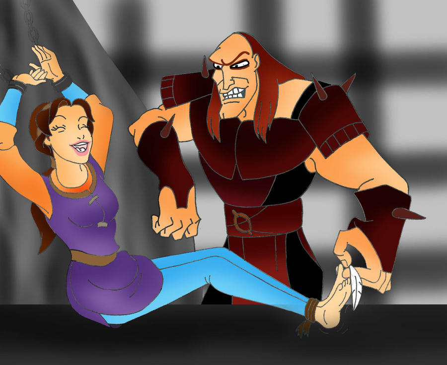 Request 17: Kayley's Tickle Torment by Disneycow82