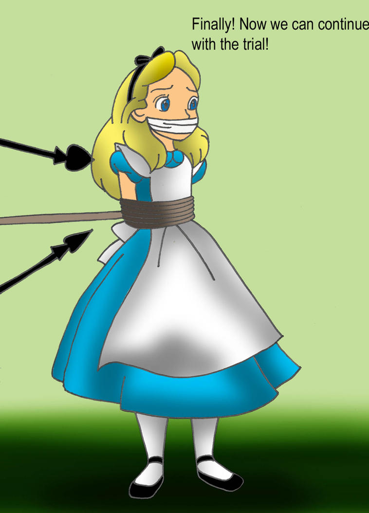 Request 61: Alice's Recapture by Disneycow82