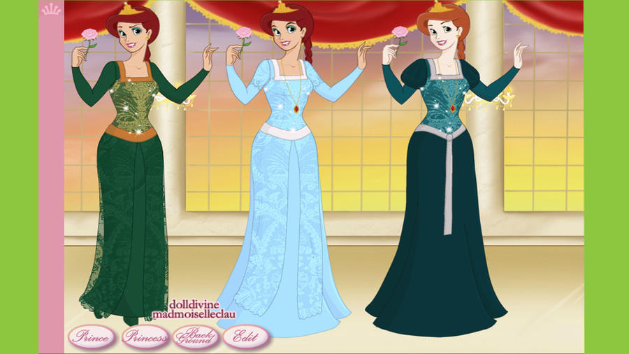 Princess Fiona in Dresses by Disneycow82 on DeviantArt