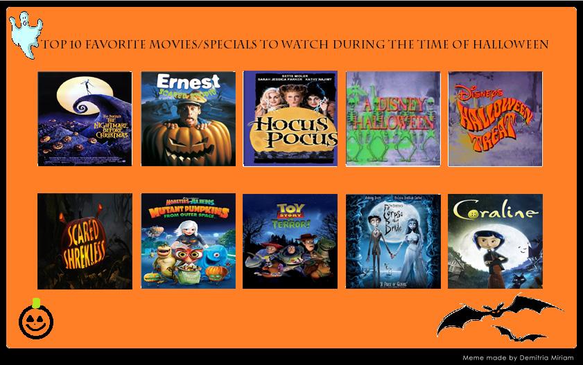 My Top Ten Halloween Specials by Disneycow82 on DeviantArt